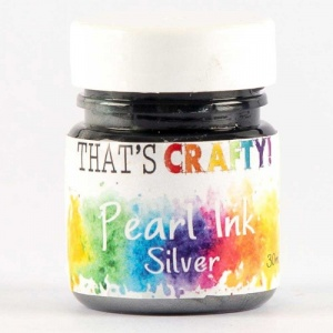 That's Crafty! Pearl Ink - Silver