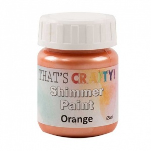 That's Crafty! Shimmer Paint - Orange