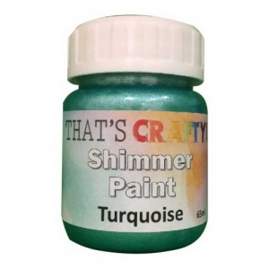 That's Crafty! Shimmer Paint - Turquoise