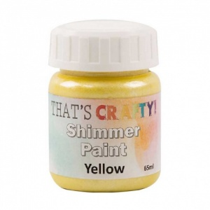 That's Crafty! Shimmer Paint - Yellow