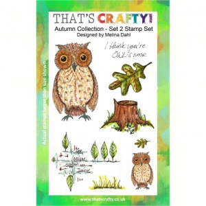 That's Crafty! Clear Stamp Set - Autumn Collection - Set 2