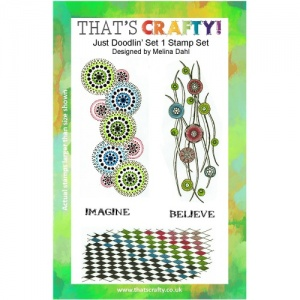 That's Crafty! Clear Stamp Set - Just Doodlin' - Set 1