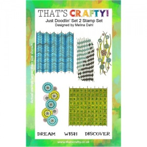 That's Crafty! Clear Stamp Set - Just Doodlin' - Set 2
