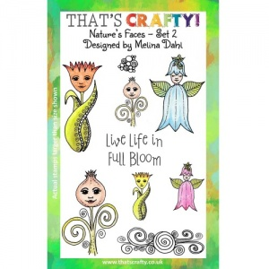 That's Crafty! Clear Stamp Set - Nature's Faces - Set 2