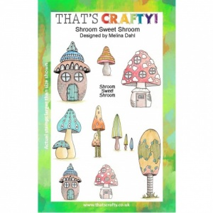 That's Crafty! Clear Stamp Set - Shroom Sweet Shroom