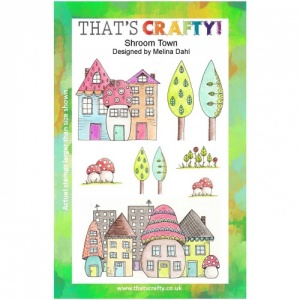 That's Crafty! Clear Stamp Set - Shroom Town