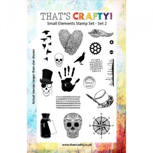 That's Crafty! Clear Stamp Set - Small Elements - Set 2