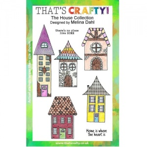 That's Crafty! Clear Stamp Set - The House Collection