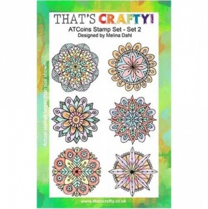 That's Crafty! Clear Stamp Set - ATCoins Stamp Set - Set 2