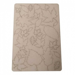 That's Crafty! Surfaces Bits and Pieces Greyboard Sheet - Leaves