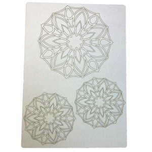 That's Crafty! Surfaces Craftyboard - Mandalas 2