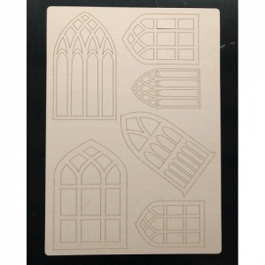 That's Crafty! Surfaces Craftyboard - Arched Windows