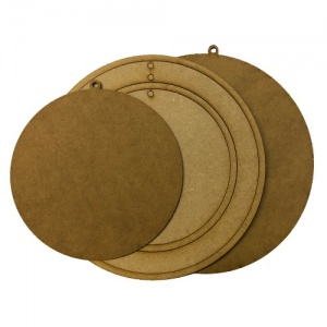 That's Crafty! Surfaces MDF Faux Embroidery Hoops