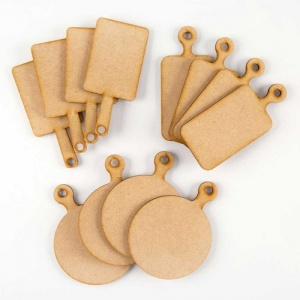That's Crafty! Surfaces MDF Dinky Cheeseboards