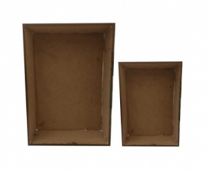 That's Crafty! Surfaces Set of 2 MDF Shadow Boxes