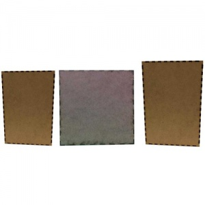 That's Crafty! Surfaces MDF Skinnies - Mixed Pack of 3