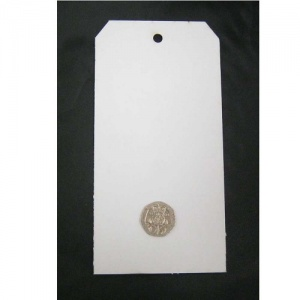That's Crafty! Surfaces White/Greyboard Tags - Pack of 6 - #8