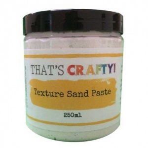 That's Crafty! Texture Sand Paste