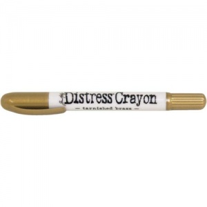Tim Holtz Distress Crayon - Tarnished Brass