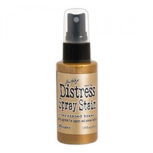 Tim Holtz Distress Spray Stain - Tarnished Brass