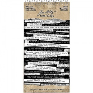Tim Holtz Idea-ology Spiral Bound Sticker Book - Small Talk - Snarky