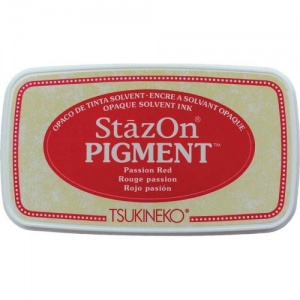 StazOn Pigment Ink Pad - Passion Red
