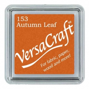 VersaCraft Small Ink Pad - Autumn Leaf