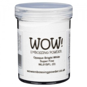 WOW! Embossing Powder - Bright White (SF) - Large Jar