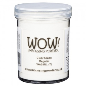 WOW! Embossing Powder - Clear Gloss (R) - Large Jar