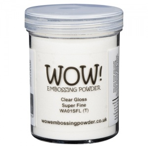 WOW! Embossing Powder - Clear Gloss (SF) - Large Jar