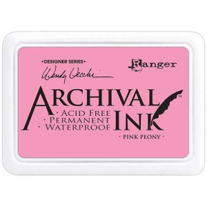 Ranger Archival Ink Pad Designer Series - Pink Peony