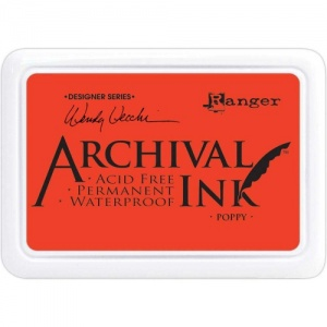 Ranger Archival Ink Pad Designer Series - Poppy
