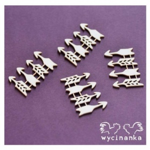 Wycinanka Chipboard - Arrows