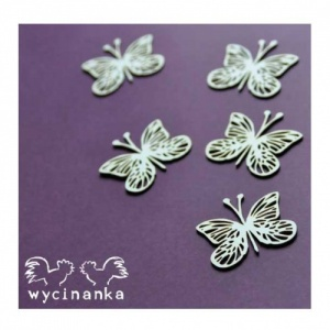 Wycinanka Chipboard - Butterflies