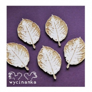 Wycinanka Chipboard - Small Leaves 1