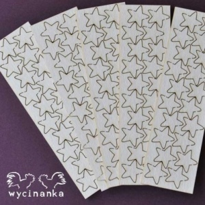 Wycinanka Chipboard - Tiny Stars