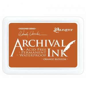 Ranger Archival Ink Pad Designer Series - Orange Blossom