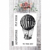 13 Arts A7 Clear Stamp Set - Baloon