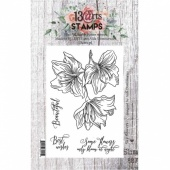 13 Arts A7 Clear Stamp Set - Sky Flowers