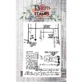 13 Arts A6 Clear Stamp Set - Simplicity