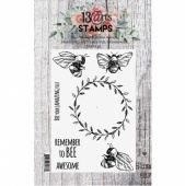 13 Arts A7 Clear Stamp Set - Bees