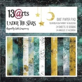13 Arts 6ins x 6ins Paper Pack - Under the Stars