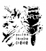 13 Arts Stencil - Art Brush