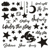 13 Arts Chipboard - Under the Stars