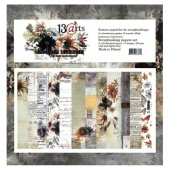 13 Arts 12ins x 12ins Paper Pack - End of Summer