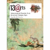 13 Arts A6 Paper Pack - Down Under