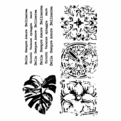 13 Arts A7 Clear Stamp Set - Bella