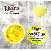 13 Arts Metallic Color Glow - Citrine