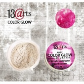 13 Arts Metallic Color Glow - Ruby