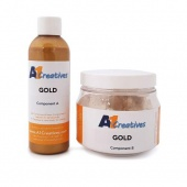 A1 Creatives Resin - Gold